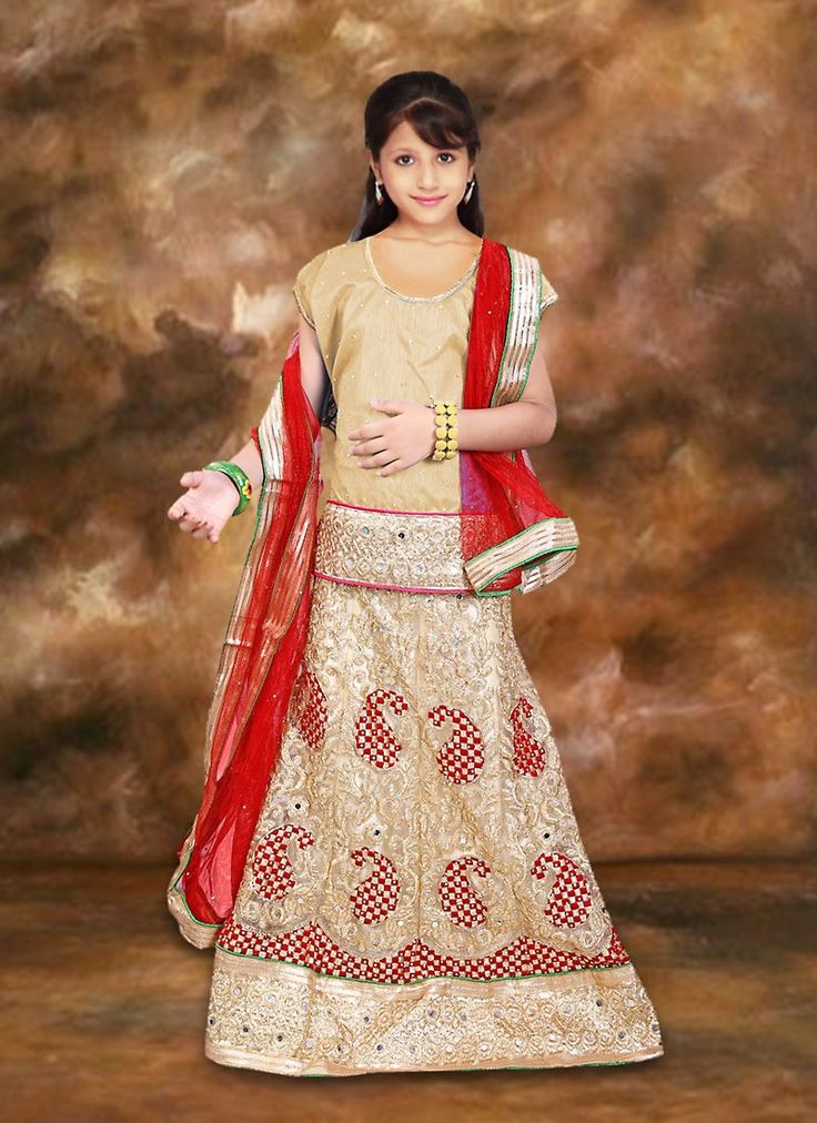 #Charming Beige #Net Girl's #Readymade #Lehenga Choli for Online #Shopping in #India.  To get more details, Call us: +91-8347727772  Email ID: info@addsharesale.com