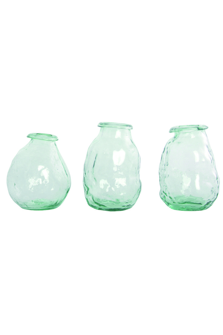18 best white mint vases images on pinterest mint peppermint 3 assorted handmade vases white mint these individual handmade vases are in various shapes reviewsmspy