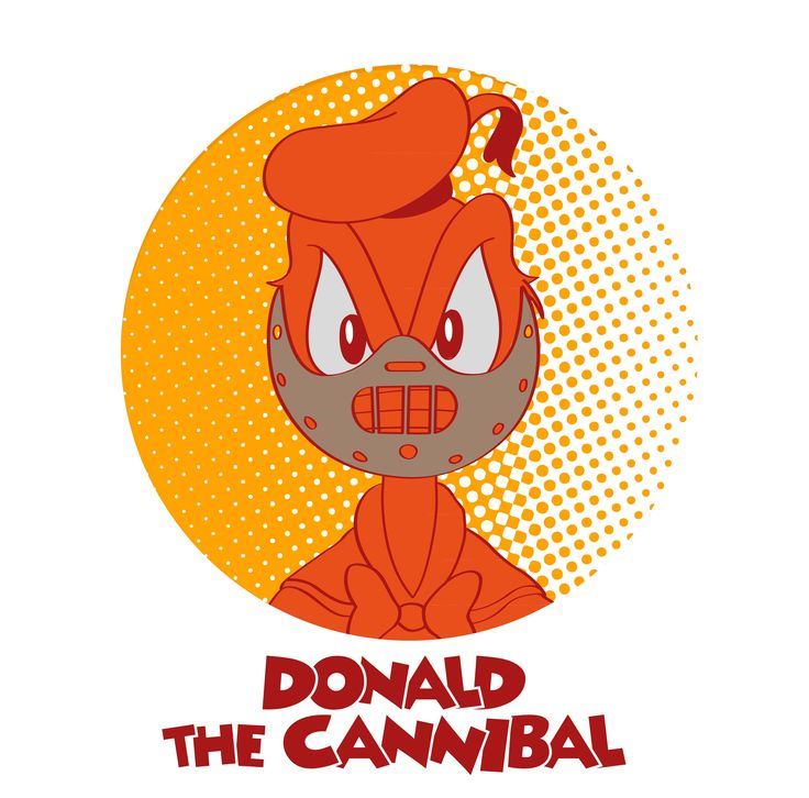 Donald the cannibal