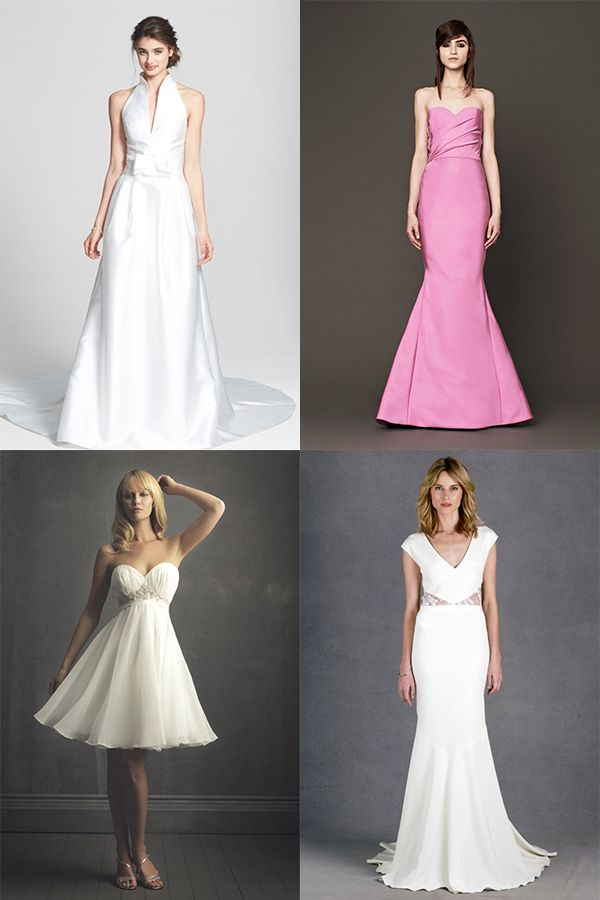 Wedding Dresses for Broad Shoulders Brides (Inverted Triangle Body Shape)