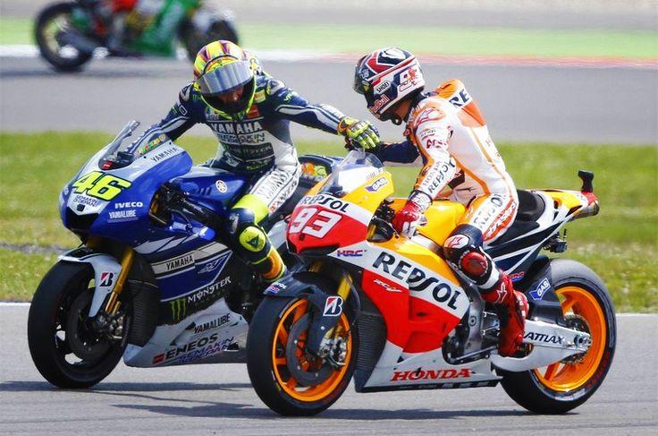 Valentino Rossi & Marc Marquez