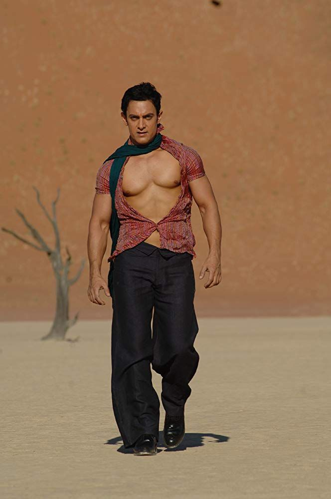 Aamir Khan In Ghajini 2008 With Images Aamir Khan Khan
