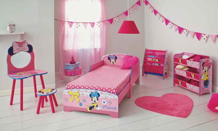17 Best Minnie Mouse Bedroom Ideas Images On Pinterest