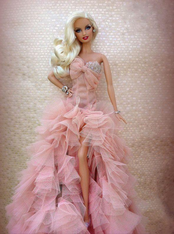 586 best love barbies images on pinterest barbie dolls christmas the blonds barbie re dressed voltagebd Images