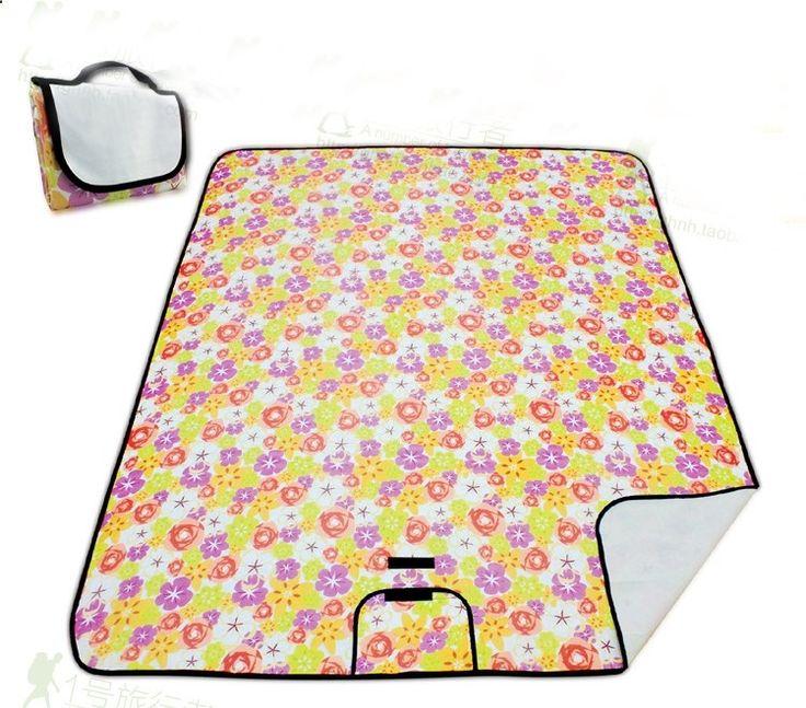 Camping Mats - 56.50$ Buy here - ai8ba.worlditems.... - Outdoor Portable Folding Moistureproof Waterproof Picnic Mats Hiking Camping Mat Beach Mat Baby Climb Plaid Blanket 200cm x150cm