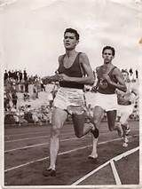 Ron Clarke  John Landy - 1956