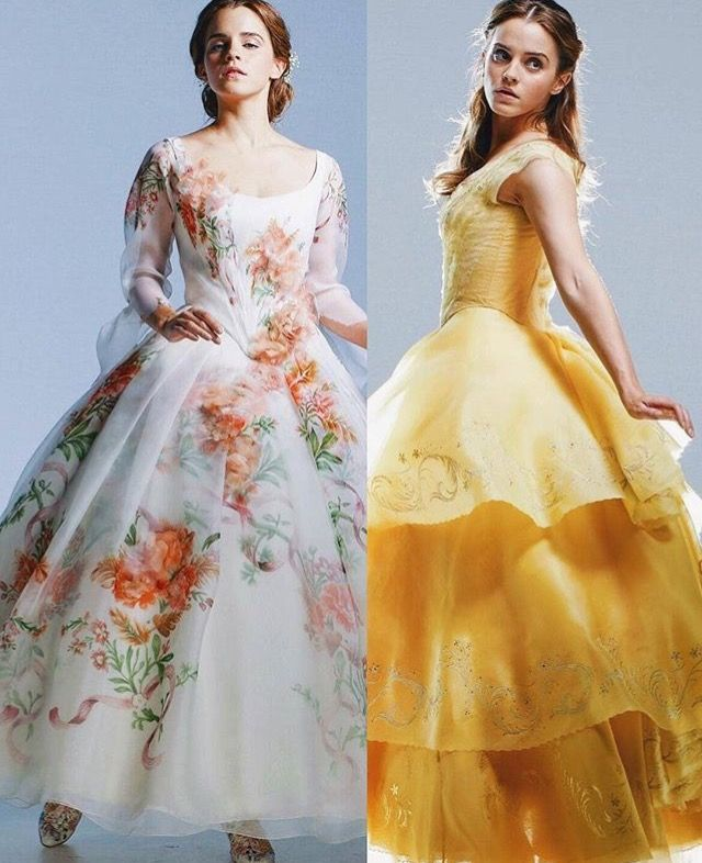 Pin By Dalmatian Obsession On Beauty The Beast Disney Princess Dresses Emma Watson Beautiful Nice Dresses