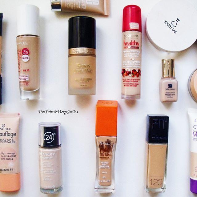 My whole foundation collection!!!! Είδες το βίντεο με τη συλλογή μου απο foundations??? Είναι τώρα LIVE και απαντάω ποιά είναι τα αγαπημένα μου απο κάθε κατηγορία!!!!! Enjoyyyyyyy!!!!! ❤️ ❤️    #vickysmiles #elegantandsexy #πιτσικουλακια #greekblogger #greekvlogger #greekyoutuber #makeupjunkie #makeupcollection #foundations #coverage #rimmellondon #maybelline #revlon #toofaced #esteelauder #loreal #bourjois #youthlab @rimmellondonuk @maybelline @bourjoisparis @toofaced #newvid