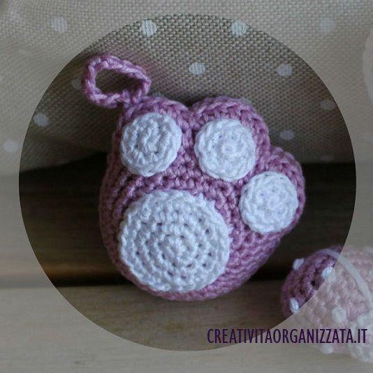 Schema per zampetta amigurumi a uncinetto Spiegazioni in italiano #amigurumi #crochet