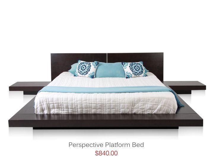 36 best platform beds images on pinterest bedrooms for Camas matrimoniales