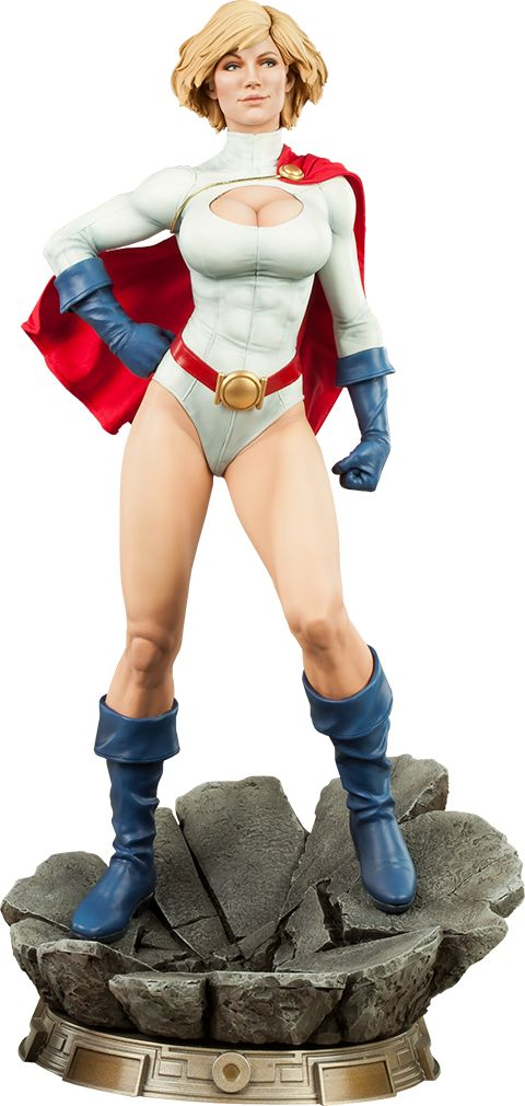 Pre-Order Sideshow DC Comics Power Girl Premium Format Figure  #fanboycollect www.FanboyCollectibles.com