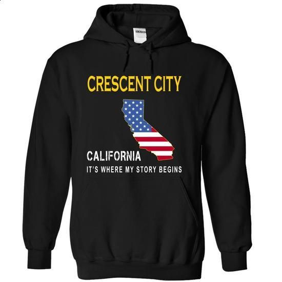 CRESCENT CITY - Its Where My Story Begins - #school shirt #american eagle hoodie. I WANT THIS => https://www.sunfrog.com/States/CRESCENT-CITY--Its-Where-My-Story-Begins-dxlrm-Black-14167876-Hoodie.html?68278