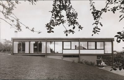 House Wethal (1961) in Oslo, Norway, by Geir Grung