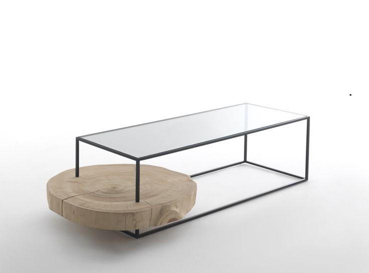 Kurtz - Side Table - Vernicemogano for Durame