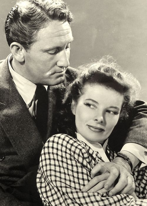 Spencer Tracey & Katheryn Hepburn ~ what a couple ~ image from a blog with a view