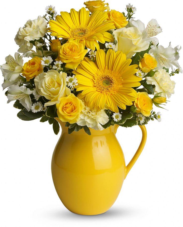 Best 25 Yellow Flower Arrangements Ideas Only On Pinterest Lemon Vase And Spring