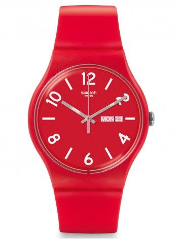 SWATCH Backup Red http://kloxx.gr/brands/swatch-1/swatch-backup-red-rubber-strap-suor705