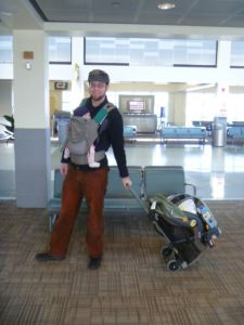traveling with an infant.