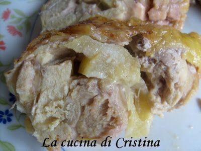 Coscia di pollo con limoni in salamoia - Pulpa de pui cu lamii in saramura