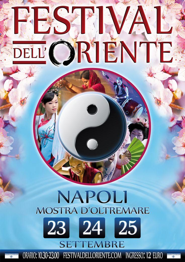 Ritorna a #Napoli il Festival dell'Oriente. Alla mostra d'oltremare dal 23 al 25 settembre
