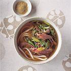 Een heerlijk recept: Noedelsoep met rosbief en prei