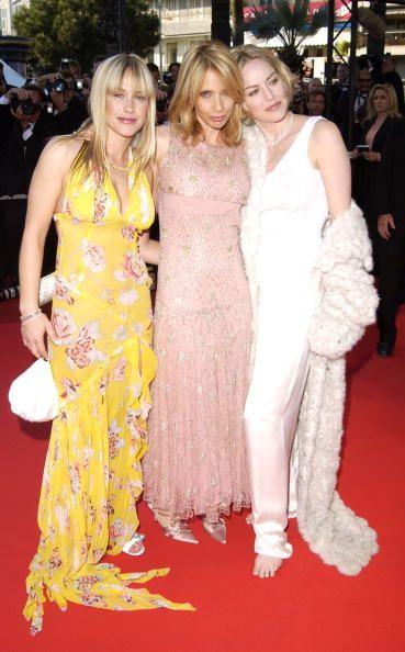 Patricia & Rosanna Arquette and Sharon Stone