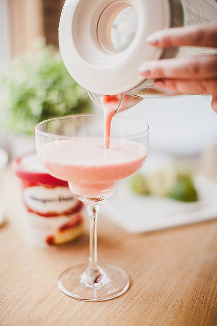 Strawberries & Cream Mocktail
