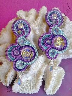Tutorial orecchini e anello soutaches
