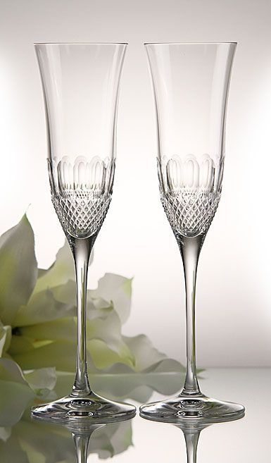 waterford colleen essence flutes - Waterford Champagne Flutes