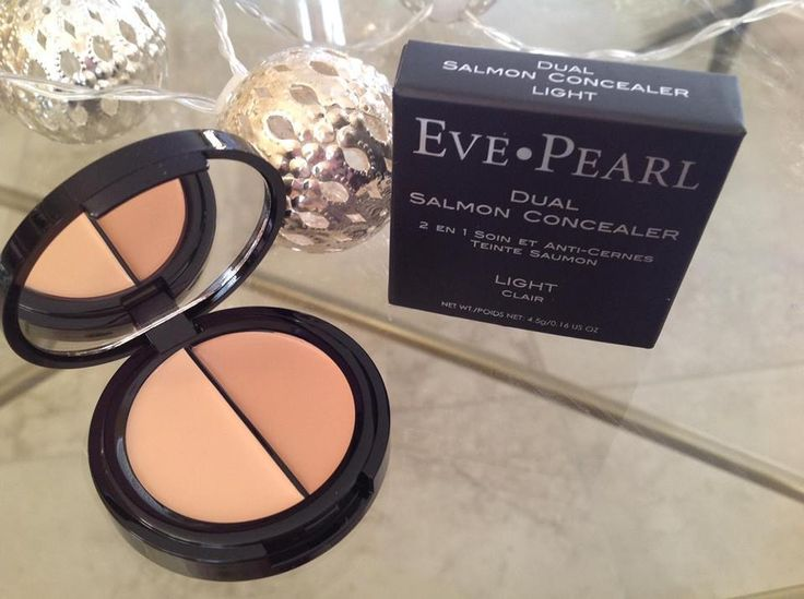 Eve Pearl Dual Salmon Concealer in LIGHT  (New in box) Fresh! #EvePearl