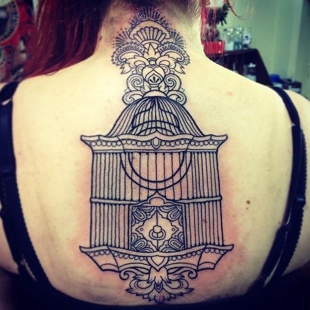 WIP by Simone Hede, Progression Tattoo. Adelaide, Australia.