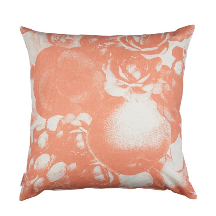 Boudoir apricot- fabric by Studio Lisa Bengtsson.