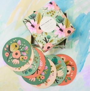 Botanical Coaster Set- found on Furbish- Manufactured by Rifle Paper Company
