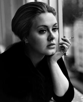 Adele. British - check. Confident - check. Talented - check.