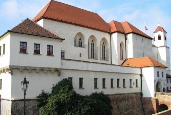 Spilberk Castle, which I visited in Brno, Czech Republic.