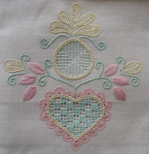 JMD Designs Home - Janet M. Davies - New Zealand - Free Schwalm Tutorial- Needlework, Quilting and Applique