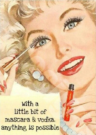 Vintage Beauty Makeup Quotes