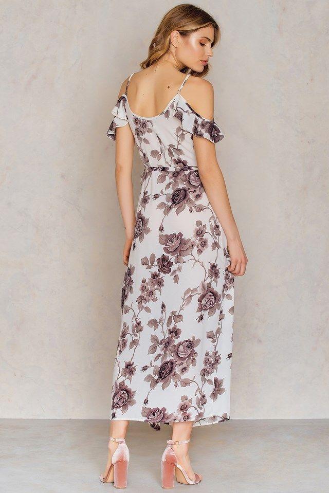 50 Taniej Dluga Sukienka W Kwiaty Z Odkrytymi Ramionami Na Kd Com Maxi Longdress Weddingdress Dresses Fashion Cold Shoulder Dress