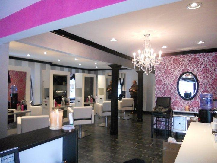 Pin by Tina Gillam on hair salon  Boutique salon Salons