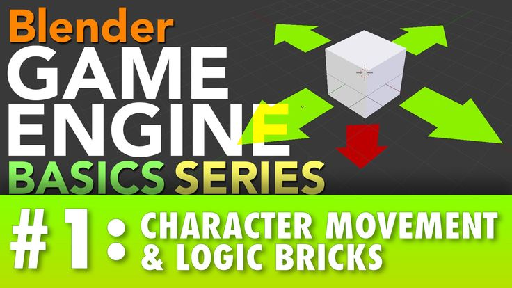 In this Blender Game Engine Tutorial #1 I cover: -How to start using the Blender Game Engine + the basics of the logic editor window -Physics in the BGE -Col...