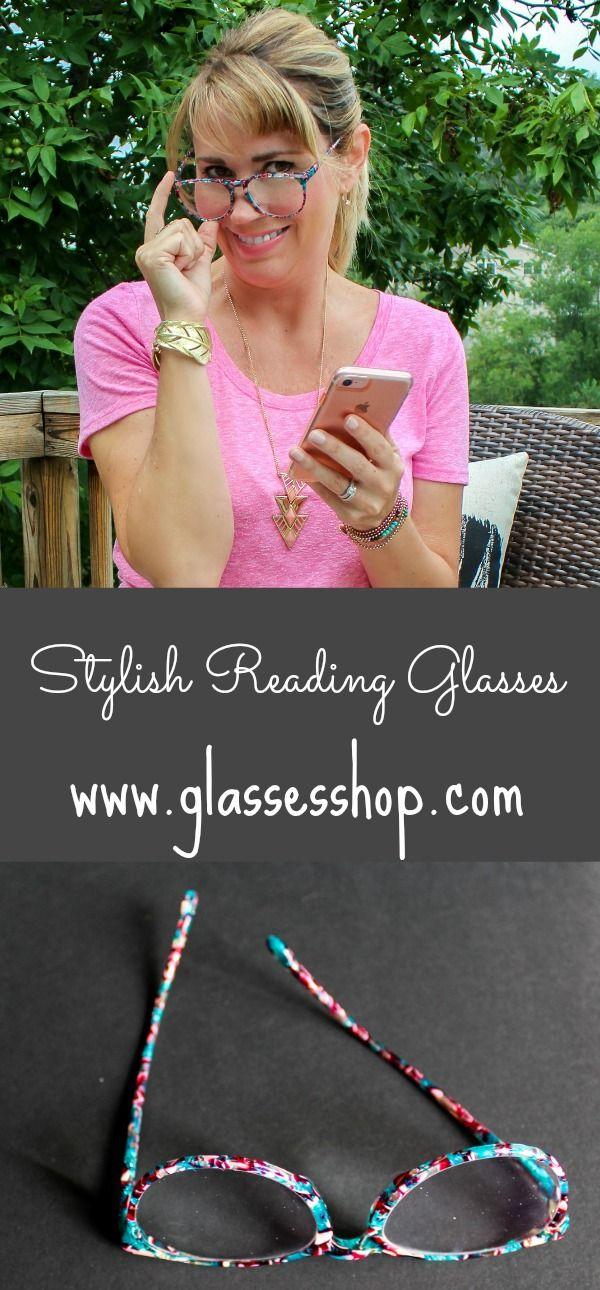 Stylish reading glasses | Sweet Parrish Place