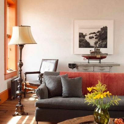 Gray Sofa Design Ideas, Pictures, Remodel, and Decor - page 3