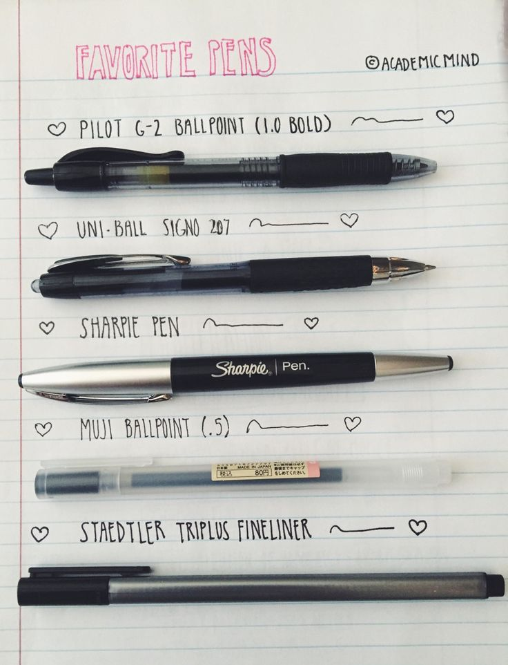 17 Best Ideas About Best Pens On Pinterest Writing Pens