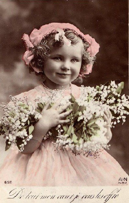 "cartes postales anciennes ""Fantaisie"", 1908"