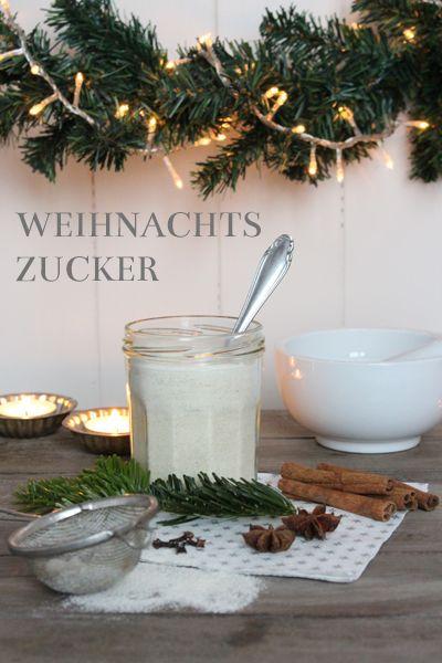 Geschenke aus der Küche - Weihnachtszucker  www.machenstattreden.blogspot.de