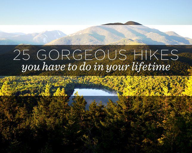 Allow us to introduce you to your hiking bucket list