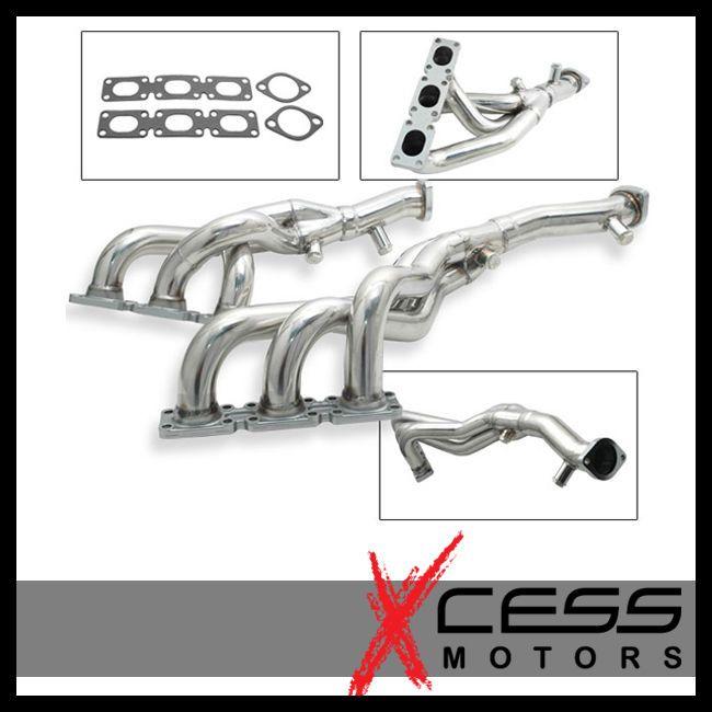 BMW M54 E60 E53 E83 E85 E36 E39 E46 Z4 x5 x3 325 330 Stainless Exhaust Header | eBay