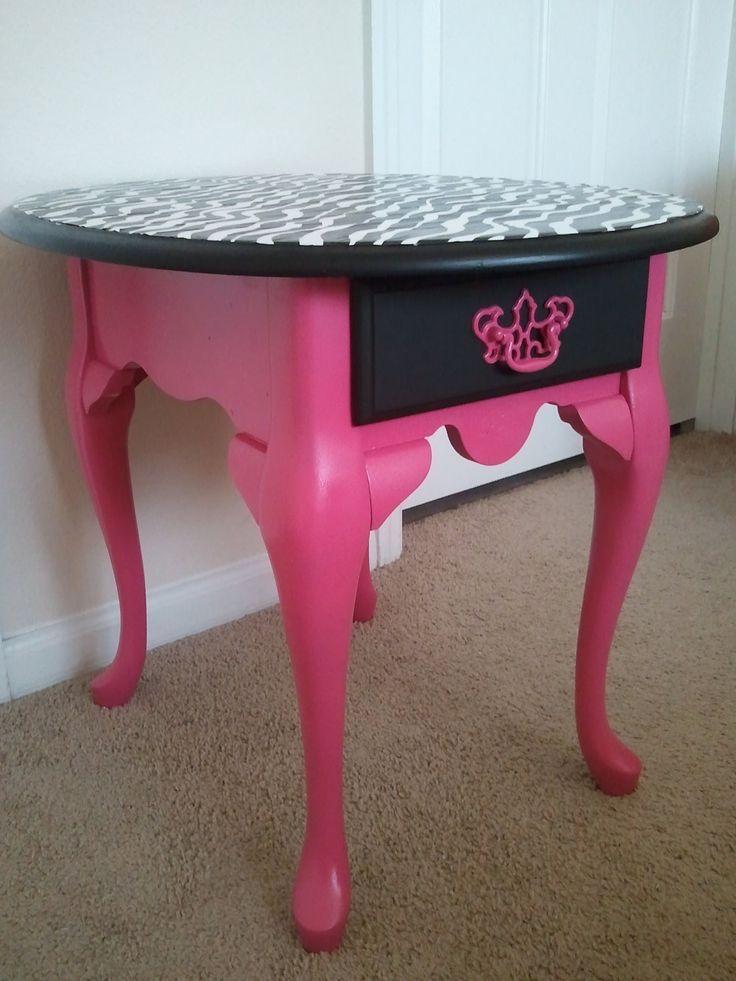 zebra print bedroom furniture. hot pink and black zebra print accent table bedroom furniture