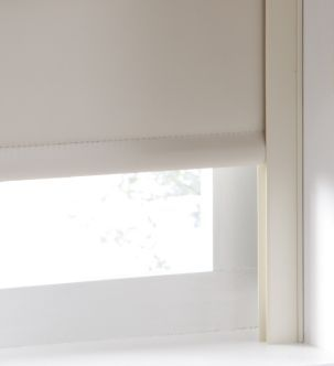 roller blind with blackout channeln and roman shade - Google Search