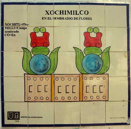"""Nombres de los lugares de México: Xochimilco  La palabra Xochimilco se arma con xóchitl, flor, milli, que significa terreno sembrado (de ahí se deriva también la palabra milpa) y co, que es el sufijo de lugar. Entonces Xochimico sería """"en el jardín florido"""".  tetepehua / difundir     ]]>"""